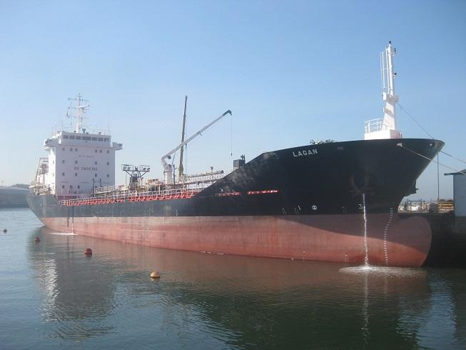 """Repairs afloat Asphalt Vessel """"Lagan"""""""